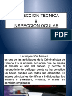 Inspección Técnica o Inspección Ocular
