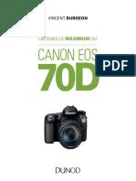 Feuilletage (1)Obtenez le maximum du Canon EOS 70D