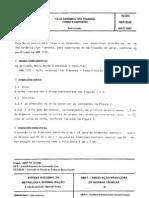 NBR 08038 - (PB 1013) - Telha Ceramica Tipo Francesa - Forma e Dimensoes