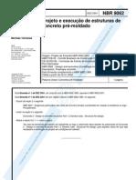 NBR 09062 - Abnt - Projeto E Execução De Estruturas De Concreto Pré-Moldado