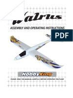 Hobbyking Walrus Users Manual