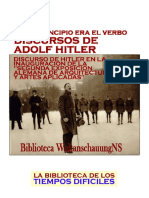 Hitler, Adolf - Discurso Acerca Del Arte
