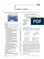 Phthalocyanine Metal Complexes in Catalysis, Review 2013
