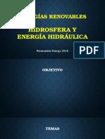 Presentación Del Curso Hidrosfera y Energia Hidraulica