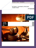 Sources of Law - Precedent