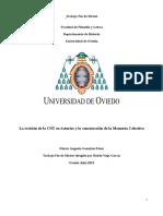 González Pérez, Héctor Augusto - La Escisión de La CNT en Asturias y La Construcción de La Memoria Colectiva (2013)
