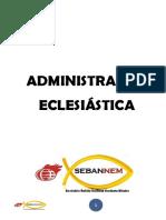 1- Administração Eclesiastica Seb