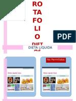 EJEMPLO DE ROTAFOLIO Dietas Terapeuticas Basicas