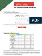Novo Cronograma de Estudos - XIXNovo Cronograma de Estudos - XIX Exame de Ordem (Início 11-01).pdf Exame de Ordem (Início 11-01)