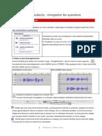 Radiolab Itv Audacity Enregistrer-questions