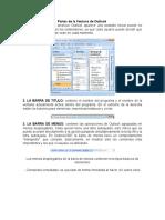 Partes de la Ventana de Outlook y del correo y el internet.docx