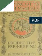 Productive Bee Keeping - Frank Chapman Pellet