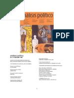 Análisis político N. 27