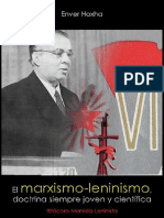 Enver Hoxha; El marxismo-leninismo, doctrina siempre jóven y científica, 1971.pdf