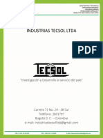 Brochure TECSOL 2015