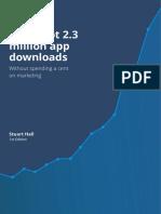 How I Got 2.3m Downloads Appbot