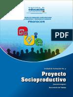 PROYECTO SOCIO PRODUCTIVO Uf9 Regular 2016