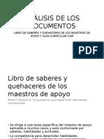 Análisis de Los Documentos 12 de Abril Equipo 6