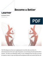 4 Ways to Become a Better Learner