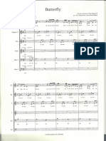 Butterfly SATB
