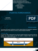 Tema 6. Puentes Ferroviarios(1)