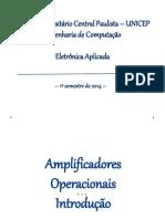 Apostila Amplificadores Operacionais