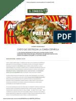 Chefs Que Destrozan La Comida Española _ El Comidista EL PAÍS