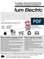 No-Grid Cost-Free Quantum Electric - FP Handout