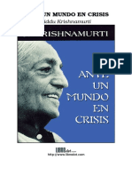Ante un mundo en crisis - Jiddu Krishnamurti.doc