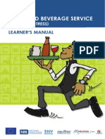 Waiter Learner Manual English
