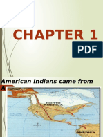 American Indians Came From Asia