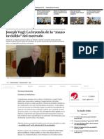 """La Leyenda de La """"Mano Invisible"""" Del Mercado"""