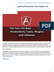 The Ten (10) Best Angular.js Productivity Tools, Plugins and Libraries