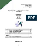 Distillation Dynamics and Control Workbook 2006