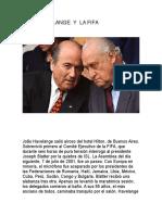 Joao Havelange y La Fifa
