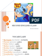 Second English Class (1)