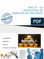 HACCP - The Difficulty With Hazard Analysis