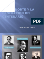 """""""Grupo Norte y la generación del centenario"""" Cátedra Orrego"""