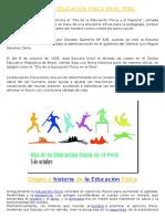 Día de La Educación Física en El Perú