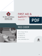 SJA RedDeerFirstAid2014