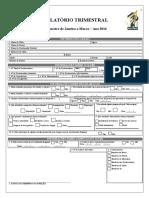 Formulário Trimestral (Janeiro-Março) 2016