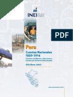 Peru Cuentas Nacionales