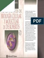 De Robertis - Fundamentos de Biologia Celular y Molecular 4ed.pdf