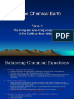 The Chemical Earth - Course Summary