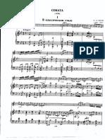 Asafiev_sonata Para Trompeta_piano Part