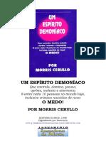 Morris Cerullo - um espírito demoníaco - medo.pdf