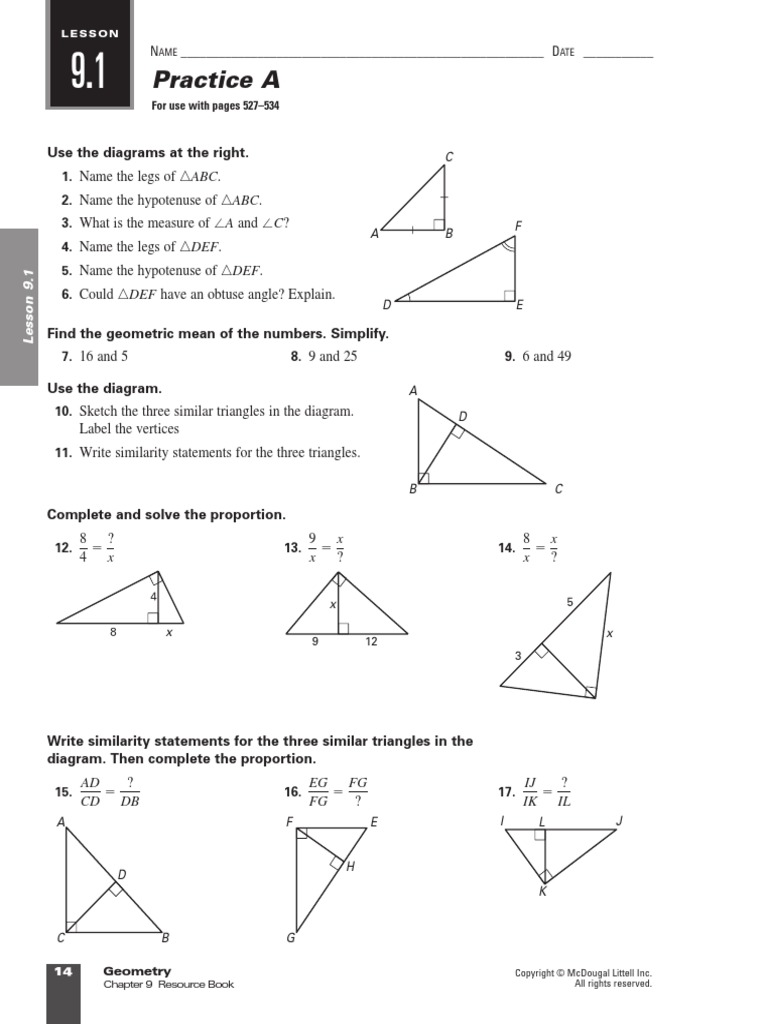 worksheet Geometry Similarity Worksheet triangle similarity worksheet times tables worksheets year 6 4 geometry chapter 9 trigonometric functions sine 1509829274 worksheet
