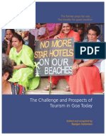 The Challenge and Prospects of Tourism in Goa Today