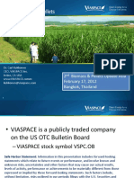 2nd Biomass & Pellets Update Asia VIASPACE