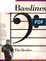 Beatles - Basslines BASS Isbn0711930988